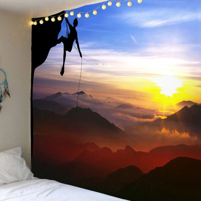 Challenge Extreme Landscape Pattern Wall Art Tapestry