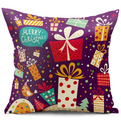 Christmas Gift Double Side Printed Decorative Pillowcase