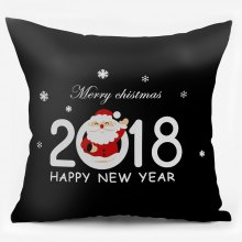 2018 Merry Christmas Double Sided Printing Pillowcase