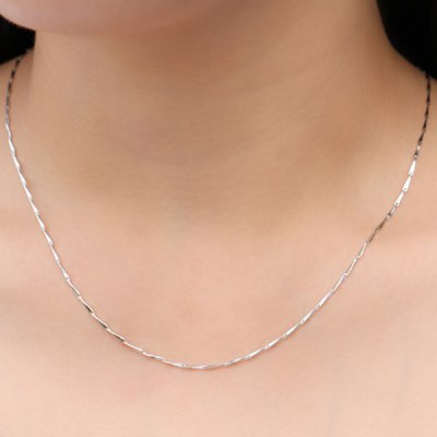 Seed Chain Collarbone Necklace