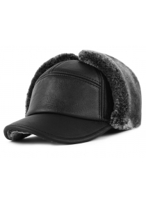 Waterproof Leather Thicker Trapper Hat