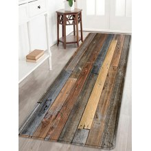 Joint Wood Board Pattern Indoor Outdoor Area Rug