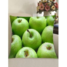 Fresh Apples Printed Throw Pillow Case