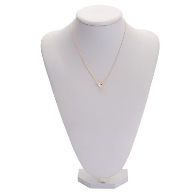 Fashionable Heart Alloy Pendant Necklace for WomenNecklaces &amp; Pendants<br>Fashionable Heart Alloy Pendant Necklace for Women<br><br>Gender: For Women<br>Item Type: Pendant Necklaces<br>Metal Type: Alloy<br>Necklace Type: Link Chain<br>Material: Alloy<br>Length of Chain: 22cm / 8.65inch<br>Style: Trendy<br>Shape/Pattern: Heart<br>Size of Pendant: 0.9cm x 0.8cm x 0.6cm / 0.35inch x 0.31inch x 0.24inch<br>Width: 0.15cm / 0.06inch<br>Weight: 0.003KG<br>Package Contents: 1 x Necklace