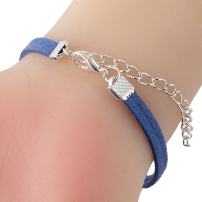 Number 8 Design Ladies Woolen Bracelet