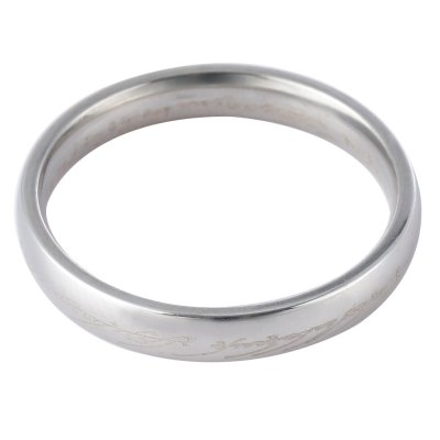 Letter Embellishment Solid Titanium Steel Rings for MenRings<br>Letter Embellishment Solid Titanium Steel Rings for Men<br><br>Gender: For Men<br>Item Type: Wedding Bands<br>Setting Type: None<br>Metal Type: titanium steel<br>Ring Size (US Size): 11.75<br>Occasion: Party<br>Style: Trendy<br>Shape/Pattern: Round<br>Weight: 0.018KG<br>Ring Width: 0.4cm / 0.1572inch<br>Package Content: 1 x Ring