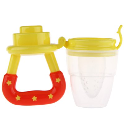 Novelty Lightweight Silicone Babies Pacifier Fresh Food Feeder ToolFeeding<br>Novelty Lightweight Silicone Babies Pacifier Fresh Food Feeder Tool<br><br>Item Type: Pacifier<br>Suitable Age: 0-2 years old<br>Shape/Pattern: Star<br>Packaging: Single loaded<br>Material: Plastic,Silicone<br>Product weight: 0.033 kg<br>Package weight: 0.052 kg<br>Product Size(L x W x H): 5.30 x 5.30 x 10.50 cm / 2.09 x 2.09 x 4.13 inches<br>Package Size ( L x W x H ): 6.00 x 6.00 x 11.00 cm / 2.36 x 2.36 x 4.33 inches<br>Package Contents: 1 x Baby Pacifier