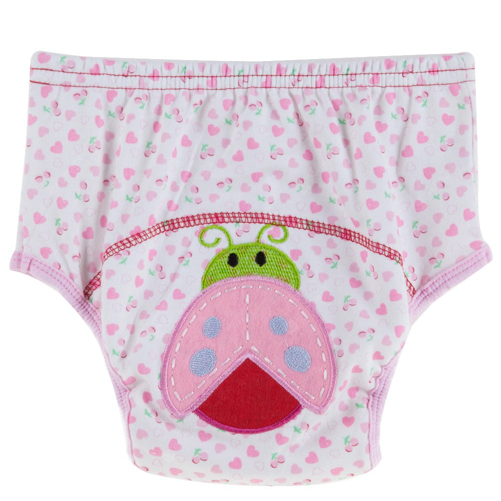 Cute Cotton Washable Breathable Elastic Printed Babies Diaper Pants