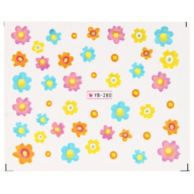 Nail Art Manicure Decals Stickers