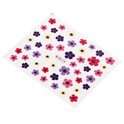 Flower Mixed Design Nail Art Manicure Decals Stickers