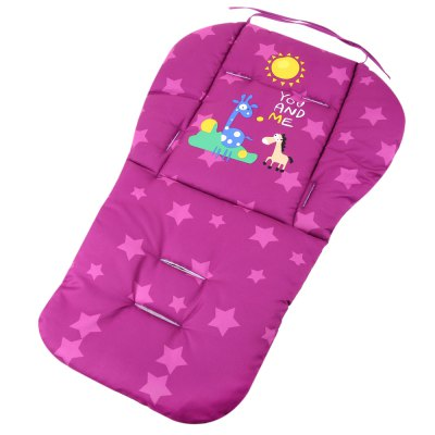 Lovely Cartoon Printed Babies Stroller Thick CushionStrollers &amp; Accessories<br>Lovely Cartoon Printed Babies Stroller Thick Cushion<br><br>Material: Cotton<br>Item Type: Seat Cushion<br>Product weight: 0.197KG<br>Package weight: 0.217 KG<br>Product size (L x W x H): 76.00 x 48.00 x 1.50 cm / 29.92 x 18.9 x 0.59 inches<br>Package size (L x W x H): 47.00 x 25.00 x 2.00 cm / 18.5 x 9.84 x 0.79 inches<br>Package Content: 1 x Seat Cushion