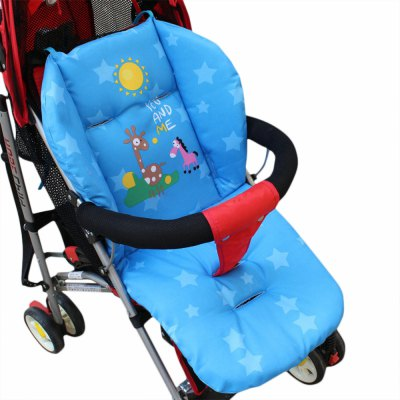 Lovely Cartoon Printed Babies Stroller Thick Cushion