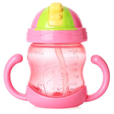 Portable Leakage-proof 240ml Babies Bottle
