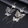 Ladies Hollow Out Butterflies Alloy Drop Earrings for sale