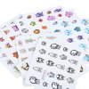best 11 Styles Nail Art Stickers Watermark 3D Cute Owl Designs Styling Tools