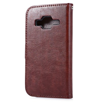 ФОТО Leather Wallet Card Slot Cover for Samsung G360