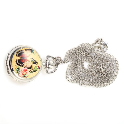 Female Quartz Pocket WatchPocket Watches<br>Female Quartz Pocket Watch<br><br>Watches categories: Pocket watch<br>Watch style: Pocket<br>Movement type: Quartz watch<br>Shape of the dial: Round<br>Display type: Analog<br>Case material: Stainless Steel<br>Band material: Stainless Steel<br>The dial thickness: 10 mm<br>The dial diameter: 30 mm<br>Product weight: 0.027 kg<br>Package weight: 0.031 kg<br>Product size (L x W x H): 4.00 x 3.00 x 1.00 cm / 1.57 x 1.18 x 0.39 inches<br>Package size (L x W x H): 5.00 x 4.00 x 2.00 cm / 1.97 x 1.57 x 0.79 inches<br>Package Contents: 1 ? Female Quartz Pocket Watch