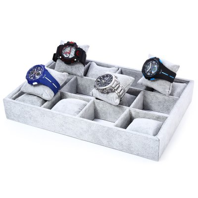 12 Grids Flocking Watch Case12 Grids Flocking Watch Case<br><br>Product weight: 0.701 kg<br>Package weight: 0.992 kg<br>Product size (L x W x H): 35.00 x 24.00 x 5.00 cm / 13.78 x 9.45 x 1.97 inches<br>Package size (L x W x H): 36.00 x 25.00 x 6.00 cm / 14.17 x 9.84 x 2.36 inches<br>Package Contents: 1 ? 12 Grids Flocking Watch Case