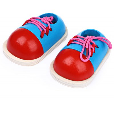 Tie Shoelace Shoes Early Learning Toys