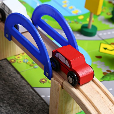 Rail Overpass Model Early Learning Baby ToyOther Educational Toys<br>Rail Overpass Model Early Learning Baby Toy<br><br>Materials: Wood<br>Theme: Buildings,Vehicle<br>Gender: Unisex<br>Completeness: Semi-finished Product<br>Stem From: China<br>Product weight: 1.216 kg<br>Package weight: 1.246 kg<br>Product size: 31.00 x 23.00 x 5.00 cm / 12.20 x 9.06 x 1.97 inches<br>Package size: 32.00 x 24.00 x 6.00 cm / 12.60 x 9.45 x 2.36 inches<br>Package Contents: 1 x Rail Overpass Model Early Learning Baby Toy