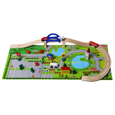 Rail Overpass Model Early Learning Baby Toy