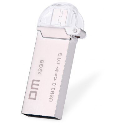 DM PD009 32GB USB 3.0 Metal Micro USB OTG U Disk