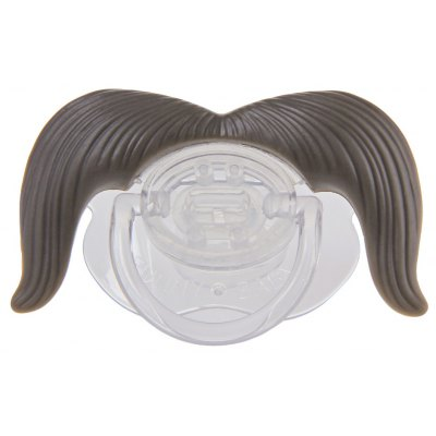 Funny Mustache Design Silicone Babies Pacifier