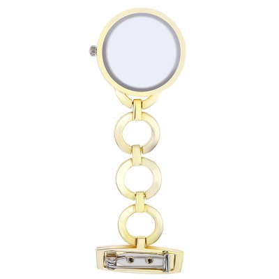 Nurse Artificial Diamond Dial Quartz WatchPocket Watches<br>Nurse Artificial Diamond Dial Quartz Watch<br><br>Watches categories: The other<br>Watch style: Pocket<br>Available color: Gold,Silver<br>Shape of the dial: Round<br>Movement type: Quartz watch<br>Case material: Stainless Steel<br>Band material: Alloys<br>The dial thickness: 10 mm<br>The dial diameter: 28 mm<br>Product weight: 0.025 kg<br>Package weight: 0.047 kg<br>Product size (L x W x H): 8.50 x 3.00 x 1.00 cm / 3.35 x 1.18 x 0.39 inches<br>Package size (L x W x H): 9.50 x 4.00 x 2.00 cm / 3.74 x 1.57 x 0.79 inches<br>Package Contents: 1 ? Nurse Artificial Diamond Dial Quartz Watch