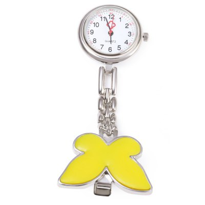 Nurse Butterfly Quartz WatchPocket Watches<br>Nurse Butterfly Quartz Watch<br><br>Watches categories: The other<br>Watch style: Pocket<br>Available color: Black,Blue,Pink,White,Yellow<br>Shape of the dial: Round<br>Movement type: Quartz watch<br>Case material: Stainless Steel<br>Band material: Alloys<br>The dial thickness: 10 mm<br>The dial diameter: 25 mm<br>Product weight: 0.023 kg<br>Package weight: 0.045 kg<br>Product size (L x W x H): 8.50 x 2.50 x 0.80 cm / 3.35 x 0.98 x 0.31 inches<br>Package size (L x W x H): 9.50 x 3.50 x 1.80 cm / 3.74 x 1.38 x 0.71 inches<br>Package Contents: 1 ? Nurse Butterfly Quartz Watch