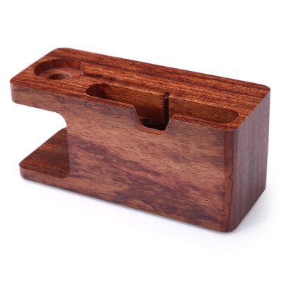 Charging Dock Station for Apple Watch Smart PhoneWatch Accessories<br>Charging Dock Station for Apple Watch Smart Phone<br><br>Material: Wood<br>Product weight: 0.213 kg<br>Package weight: 0.256 kg<br>Product size (L x W x H): 14.00 x 5.50 x 6.00 cm / 5.51 x 2.17 x 2.36 inches<br>Package size (L x W x H): 6.40 x 5.80 x 14.80 cm / 2.52 x 2.28 x 5.83 inches<br>Package Contents: 1 x Wooden Charging Dock Station