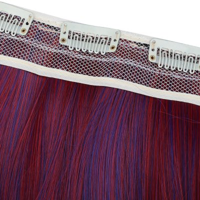 Harajuku Color Piece Straight Hair WigHair Extensions<br>Harajuku Color Piece Straight Hair Wig<br><br>Bang Type: Full<br>Length: Long<br>Material: Blended Hair<br>Package Contents: 1 x Straight Hair Wig<br>Package size (L x W x H): 1.00 x 1.00 x 1.00 cm / 0.39 x 0.39 x 0.39 inches<br>Package weight: 0.122 kg<br>Product weight: 0.100 kg<br>Style: Straight<br>Type: Full Wigs