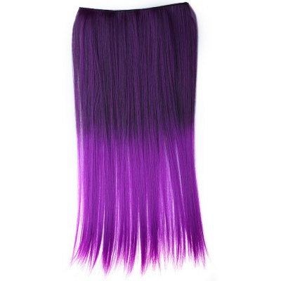 Harajuku Color Piece Straight Hair Wig