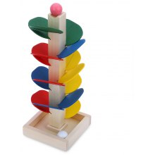 Creative Wooden Marble Tree Kids Intelligent Toys