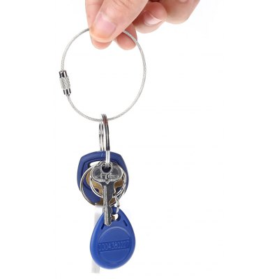 EDC Stainless Steel Wire Key Chain