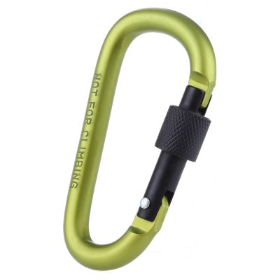 Multifunctional Aluminium Alloy Safety Buckle with Lock