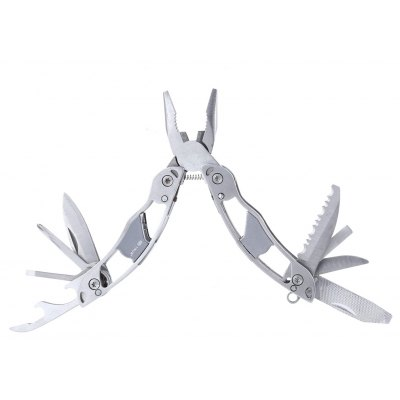 9 in 1 Foldable Outdoor Stainless Steel Multi-tools Pliers