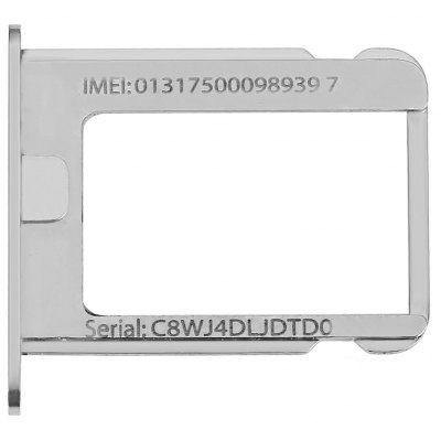 SIM Card Tray Slot Side Button Switch Set for iPhone 4G