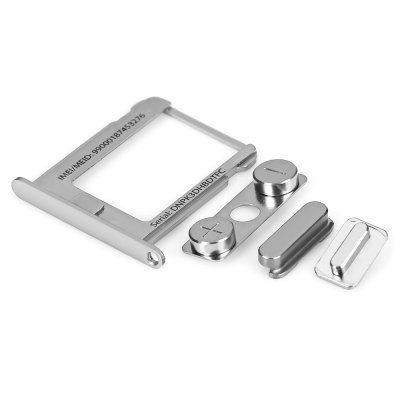 Side Button SIM Card Tray Holder for iPhone 4S
