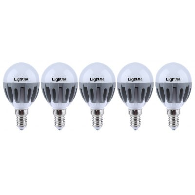 Lightme 5Pcs E14 220-240V G45 3W LED Spotlight Bulb