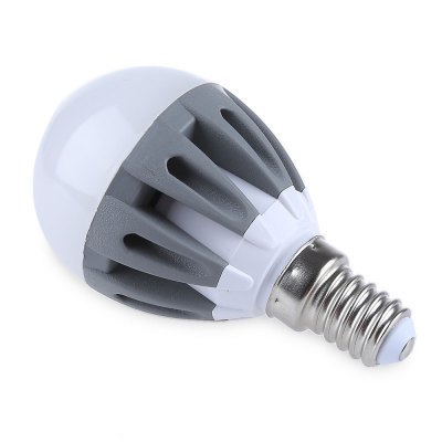 Lightme 5Pcs E14 220-240V G45 3W LED Spotlight BulbGlobe bulbs<br>Lightme 5Pcs E14 220-240V G45 3W LED Spotlight Bulb<br><br>Average Life (hrs): 50,000 Hours<br>Base Type: E14<br>Color: Dark Grey<br>Led Bulb Type: Umbrella Bulb, Spotlight Bulb<br>LED Chip Brand: Epistar<br>LED Chip Model: 2835<br>Number of LED Chip: 15 pcs<br>Occasion: Bedroom, Living Room<br>Package Contents: 5 x E14 220-240V G45 3W LED Spotlight Bulb<br>Package Size(L x W x H): 8.50 x 4.60 x 4.60 cm / 3.35 x 1.81 x 1.81 inches<br>Package weight: 0.280 kg<br>Power Tolerance: 1%<br>Product weight: 0.038 kg<br>Shape: Bar<br>Support Dimmer: No<br>Voltage: AC220-240V<br>Wattage: 3W