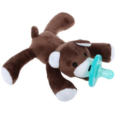 Cute Baby Animal Silicone Pacifier Toy