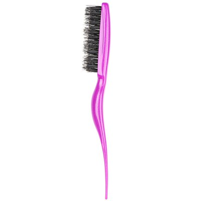 Salon Hairdressing Teasing Back Messy Effect Comb Slim Line Styling Brush