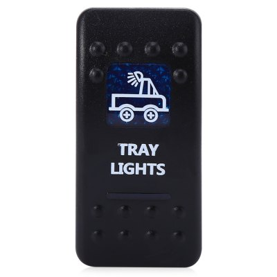 5pin Tray Lights Rocker SwitchOther Car Gadgets<br>5pin Tray Lights Rocker Switch<br><br>Features: Durable,Portable<br>Functions: Environmental friendly,Improve driving safety<br>Material: ABS,Metal<br>Color: Black<br>Special function: 5pin ON / OFF rocker switch<br>Product weight: 0.025 kg<br>Package weight: 0.050 kg<br>Product size (L x W x H): 5.00 x 5.00 x 2.50 cm / 1.97 x 1.97 x 0.98 inches<br>Package size (L x W x H): 17.00 x 12.00 x 3.00 cm / 6.69 x 4.72 x 1.18 inches<br>Package Contents: 1 x 5pin ON / OFF Rocker Switch