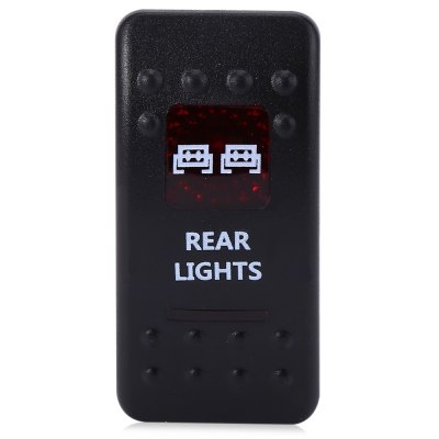 5pin Rear Lights Rocker SwitchOther Car Gadgets<br>5pin Rear Lights Rocker Switch<br><br>Features: Durable,Portable<br>Functions: Environmental friendly,Improve driving safety<br>Material: ABS,Metal<br>Color: Black<br>Special function: 5pin ON / OFF rocker switch<br>Product weight: 0.025 kg<br>Package weight: 0.050 kg<br>Product size (L x W x H): 5.00 x 5.00 x 2.50 cm / 1.97 x 1.97 x 0.98 inches<br>Package size (L x W x H): 17.00 x 12.00 x 3.00 cm / 6.69 x 4.72 x 1.18 inches<br>Package Contents: 1 x 5pin ON / OFF Rocker Switch