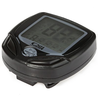 SunDing SD - 548C 14 Functions Wireless Bicycle Computer Odometer