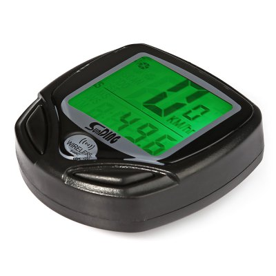 SunDing SD - 546C 18 Functions Wireless Bicycle Computer Odometer