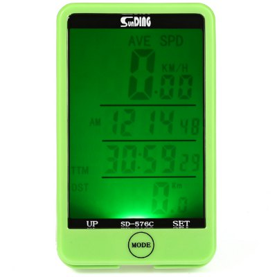 SunDing SD - 576C Touch Screen Wireless Bicycle Computer Odometer