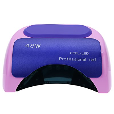 48W High Automatic Light Phototherapy Slide Type LED+UV Manicure Nail Art Power Lamp