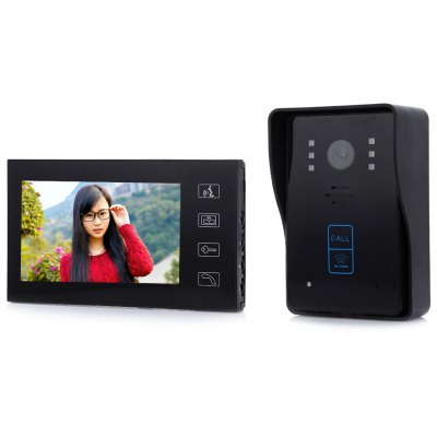 7 inch Video Intercom Door Phone Doorbell System