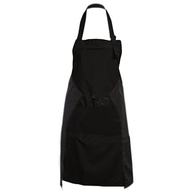 Professional Halter Adjustable Polyester with Two Pockets Haircutting Apron